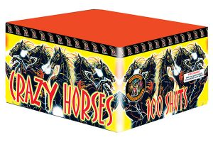 Fireworks International Crazy Horses