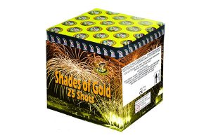Fireworks International Shades of Gold