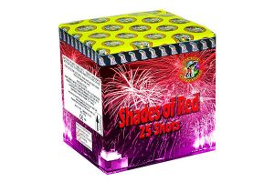 Fireworks International Shades of Red