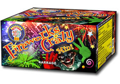Brothers Fireworks Crazy Mini Small