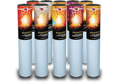 Krakatoa 75mm Mine - Multi-Colour by Kimbolton Fireworks