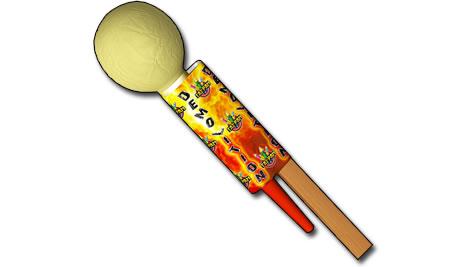 "Tai Pan Demolition 3"" Shell Rocket"