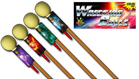 Tai Pan Wrecking Balls Rocket Pack