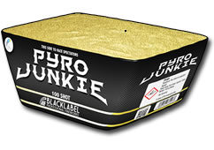 Absolute Fireworks Black Label Pyro Junkie Sml