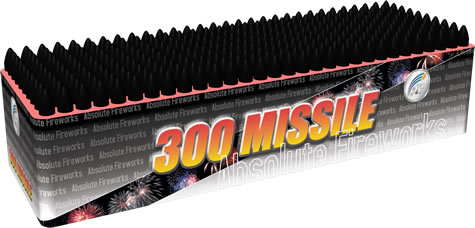 Absolute Fireworks 300 Missile