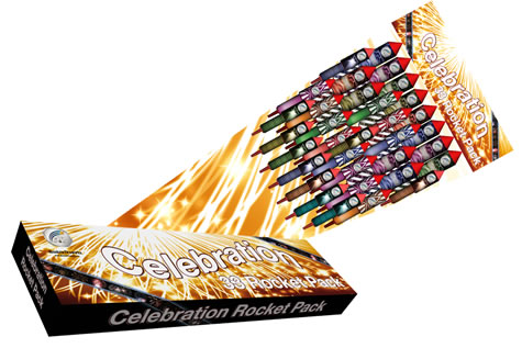Absolute Fireworks Celebration (33 Rockets)