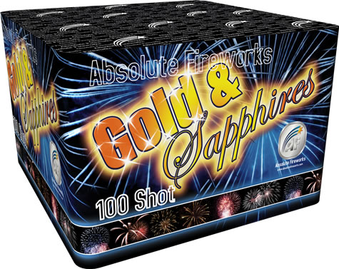 Absolute Fireworks Gold & Sapphires