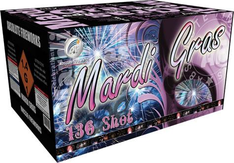 Absolute Fireworks Mardi Gras