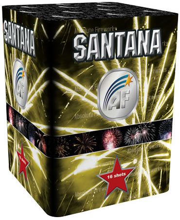 Absolute Fireworks Santana