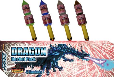 Benwell Dragon Double Break Rockets x 4