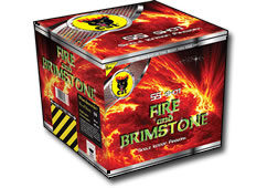 Black Cat Fireworks Fire & Brimsone Small