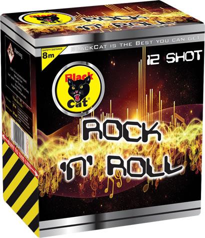 black cat rock n roll fireworks