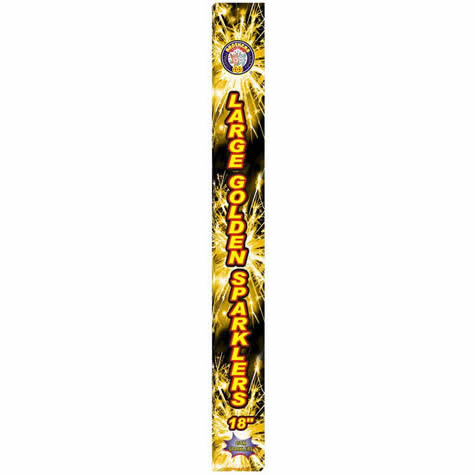 Royal Party Large 18inch Gold Sparklers