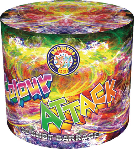 Brothers Pyrotechnics Colour Attack