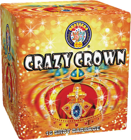 Brothers Pyrotechnics Crazy Crown