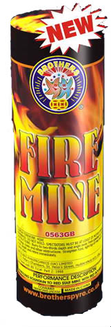 Brothers Pyrotechnics Fire Mine