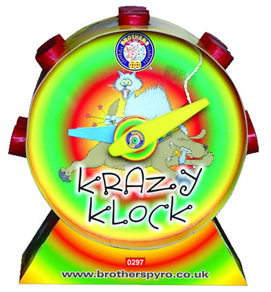Brothers Pyrotechnics Krazy Klock