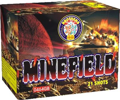 Brothers Pyrotechnics Mine Field
