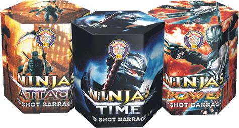 Brothers Pyrotechnics Ninjas - Attack