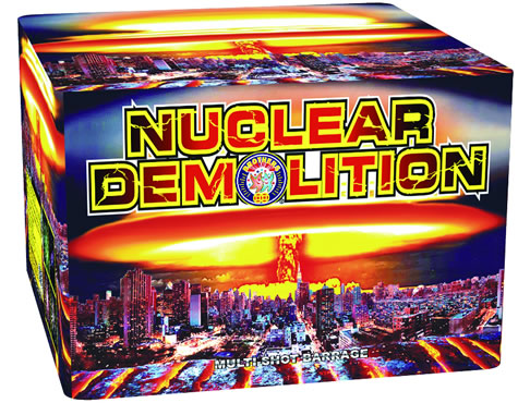 Brothers Pyrotechnics Nuclear Demolition