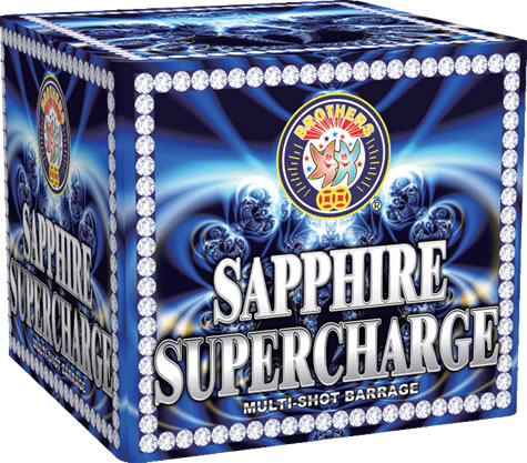 Brothers Pyrotechnics Sapphire Supercharge