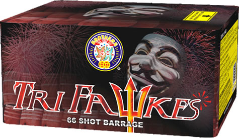 Brothers Pyrotechnics Tri Fawkes
