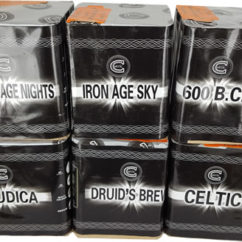 celtic 6 pack fireworks