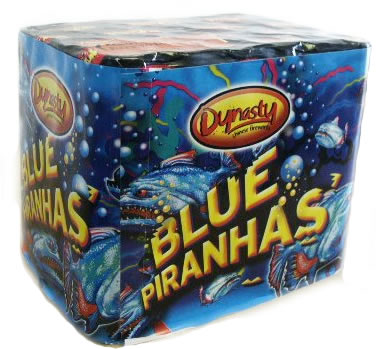 Dynasty Fireworks Blue Piranhas