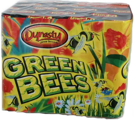 Dynasty Fireworks Green Bees
