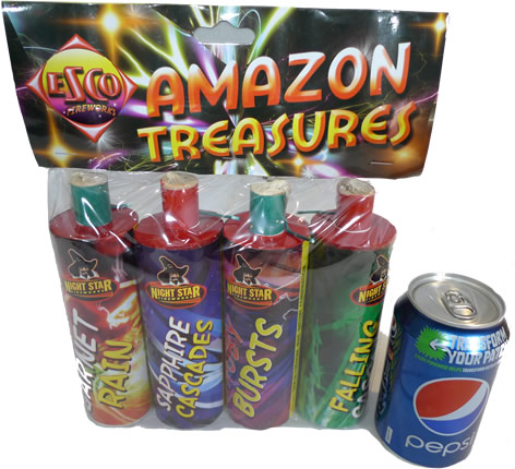 Bright Star Fireworks Amazon Treasures