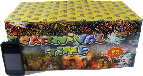 Firework Crazy Carnival Time