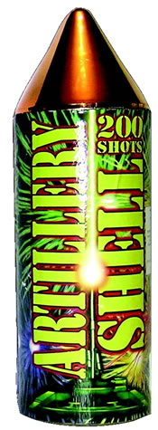 Fireworks International Artillery Shell