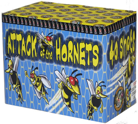 Fireworks International Attack of the Hornets