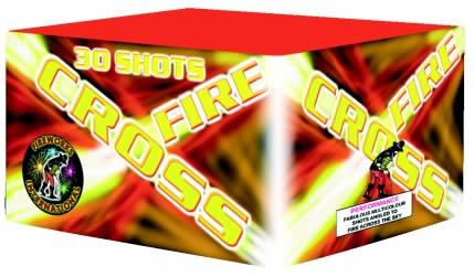 Fireworks International Cross Fire