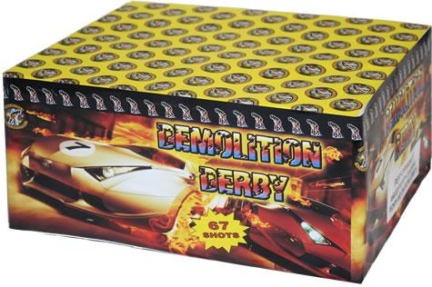 Fireworks International Demolition Derby