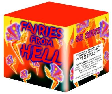 Fireworks International Fairies From Hell
