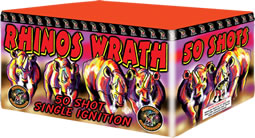 Fireworks International Rhino's Wrath