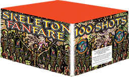 Fireworks International Skeleton Fanfare