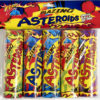 flash blazing asteroid fireworks