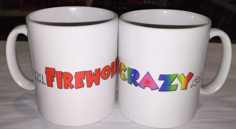 Firework Crazy Mug