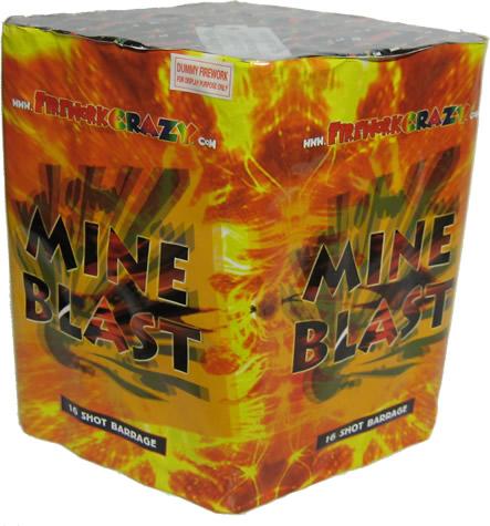 Firework Crazy Mine Blast