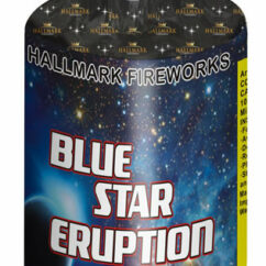 hallmark blue star eruption fireworks