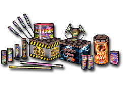 Jonathans Fireworks Jamboree Selection Box 2019 Thumb
