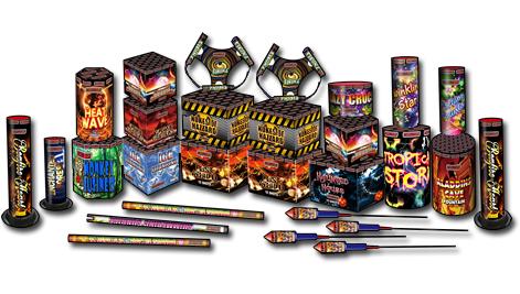 Jonathans Fireworks Shindig Selection Box