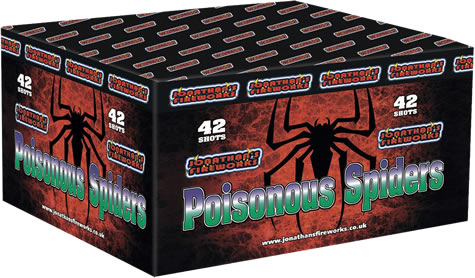 Poisonous Spiders by Jonathans Fireworks