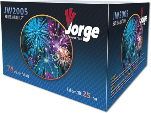 Jorge Show of Fireworks 74 Shot Finale - JW2005