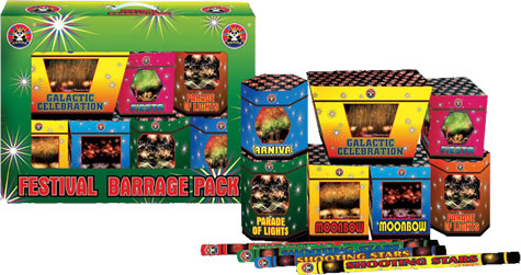 Festival Barrage Pack by Panda