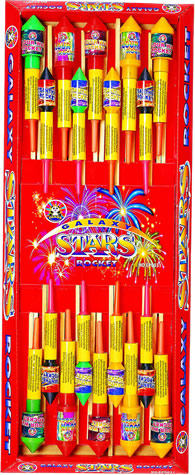 Galaxy Stars Rocket Pack