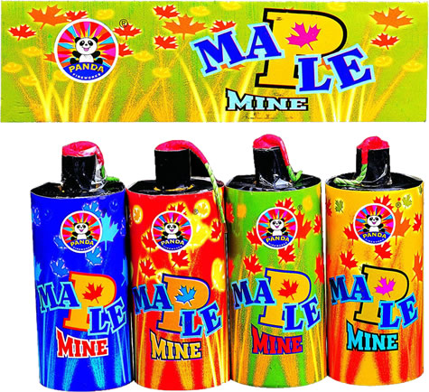 Panda Maple Mine (4 Pack)