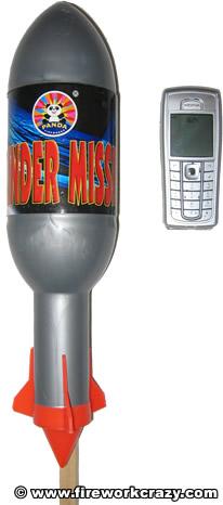 Panda Thunder Missile x 4
